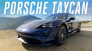 The electric Porsche Taycan is ready to take on Tesla