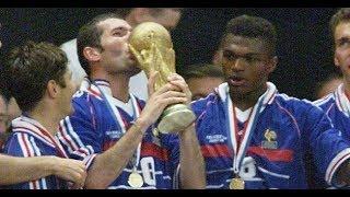 ملخص مباراة  فرنسا و البرازيل 3-0 نهائي كأس العالم 1998