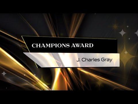 J. Charles Gray - 2015 UCF Champions Award Winner
