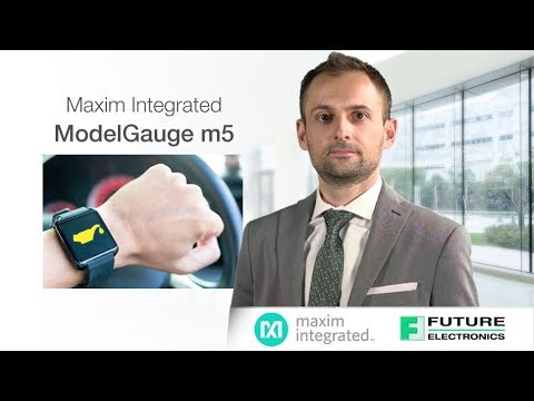 Maxim Integrated's MAX17055 ModelGauge m5 Technology