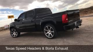 GMC Sierra Texas Speed Headers