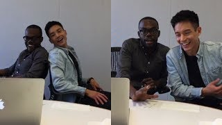 William Jackson Harper & Manny Jacinto Facebook Live Q&A
