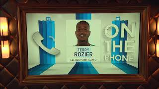 Celtics Guard Terry Rozier on His Relationship With Kyrie Irving | The Rich Eisen Show | 4/11/19