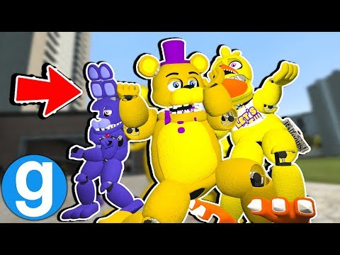 New FNAF 2 Animatonics Doing Fortnite Dances Funny Moments! [Garry's Mod Sandbox]