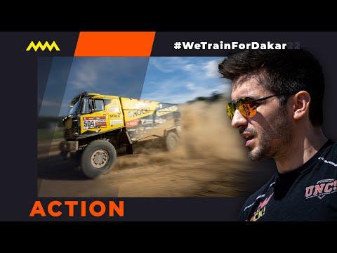 Přípravy na DAKAR Rally - #TrenujemeNaDakar
