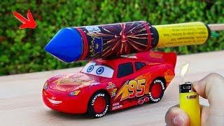 EXPERIMENT: XXL ROCKET With Toy CAR