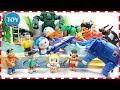 Doremon và Nobita đi bơi cùng Doremi CÁ MẬP Robot siêu thú siêu nhân gao đồ chơi trẻ em Nobita Xuka