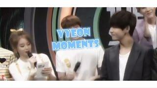 BTS V (Taehyung) & T-ARA Jiyeon [ Vyeon Moments ]