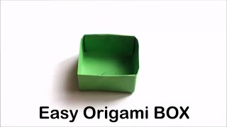 Easy Origami Box - Origami Tutorial for Beginners - Fun and Easy Origami Box | Craft Haven