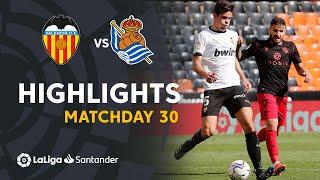 Highlights Valencia CF vs Real Sociedad (2-2)