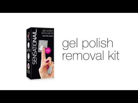 New! Convenient Gel Nail Removal Kit