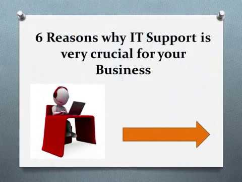 6 Reasons why IT Support is crucial for your Business?