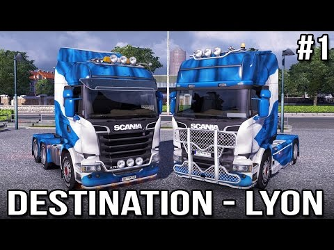Destination - Lyon! with Keralis   Ep 1 of 3   Euro Truck Simulator 2 Multiplayer