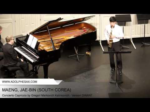 Dinant 2014 - Maeng, Jae-Bin - Concerto Capriccio by Gregori Markovich Kalinkovich