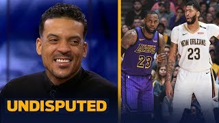 Matt Barnes joins Skip and Shannon to discuss Anthony Davis requesting a trade | NBA | UNDISPUTED