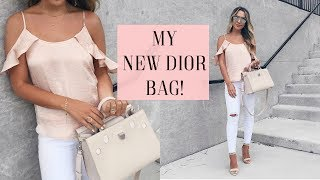 WHAT'S IN MY NEW BAG? DIOREVER + CARRY ON ESSENTIALS |  ALEXANDREA GARZA