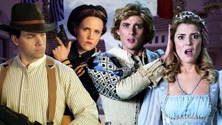 Romeo and Juliet vs Bonnie and Clyde. Epic Rap Battles of History Season 4