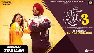 Nikka Zaildar 3 2019 Movie Trailer – Ammy Virk Video HD