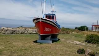Cabo Vidio, pesquero Aldebarán homenaje a los marineros muertos