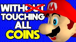 Is it Possible to Beat Super Mario 64 While Touching Every Coin?