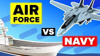 US Air Force vs US Navy – Who Would Win? (Military Comparison)