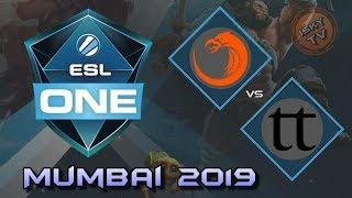 TNC Predator vs Team Team / Bo3 / Playoffs /  ESL One Mumbai 2019 / Dota 2 Live