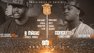 CONCEITED VS B-MAGIC SMACK/ URL