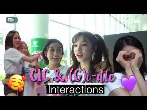 More CLC and (G)i-dle Interactions (They're Good Friends!)