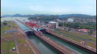 The magic of watching a ship cross the Panama Canal