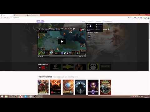Как начать стримить на twitch.tv