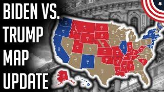 Biden vs. Trump 2020 Election Prediction Map Projection - October 2020 Election Prediction Map