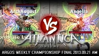 AR Weekly AM Final 2013-09-21: Angella vs. ArchAugust