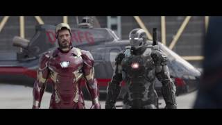 Iron Man All Suit Up & Transformation- Civil War (Blue- Ray) HD