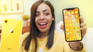 Yellow iPhone XR is Beautiful!
