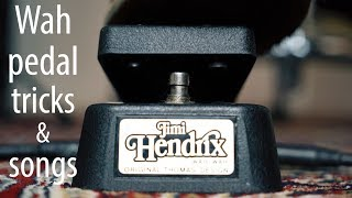 This is why the WAH PEDAL is awesome!