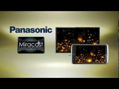 panasonic tv miracast aktivieren