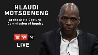 Day 1 Part 2 - Hlaudi Motsoeneng at the State Capture Commission of Inquiry