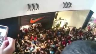 Black Friday 25/11/2016 - One Mall Salonica Greece - Nike store