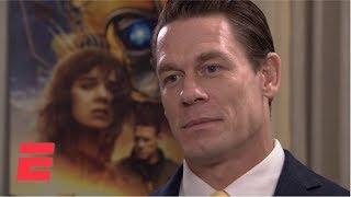 John Cena compares acting to WWE | ESPN