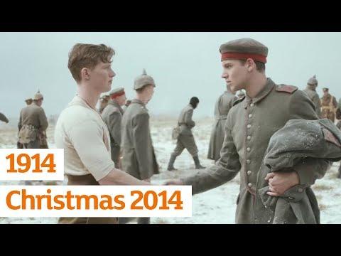 Преубава новогодишна реклама со дејствие од Првата светска војна