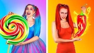 Spicy Girl vs Sweet Girl!