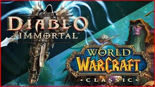 Diablo: Immortal & World of Warcraft: Classic - Blizzcon 2018 and my History of Gaming