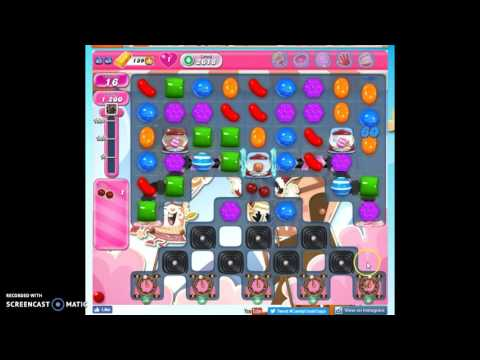 Candy Crush Level 2618 help w/audio tips, hints, tricks