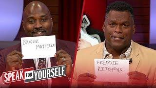 Who's the Browns' biggest problem: Baker, OBJ, Kitchens? | NFL | SPEAK FOR YOURSELF