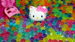 Baby doll and Orbeez Hello Kitty toys & more Kinder Joy Surprise eggs