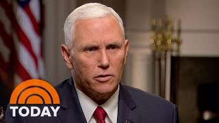 Vice President Mike Pence: Donald Trump Has A 'Whole New Policy' For Afghanistan   TODAY