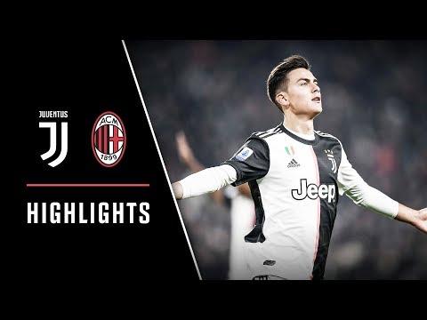 HIGHLIGHTS: Juventus vs AC Milan - 1-0 - Dybala scores the deciding goal!