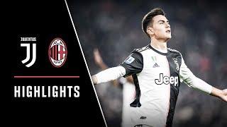 HIGHLIGHTS: Juventus vs AC Milan - 1-0  Dybala scores the deciding goal!