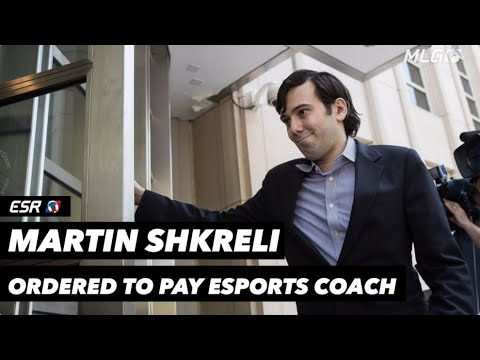 Martin Shkreli ordered to pay coach of his eSports team