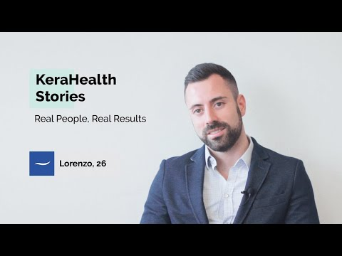 Lorenzo's success in stopping hair loss